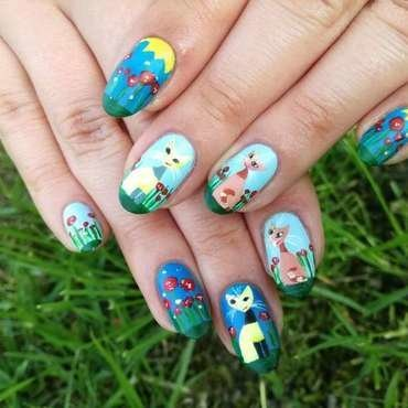 Zdobienie paznokci w koty thumb370f