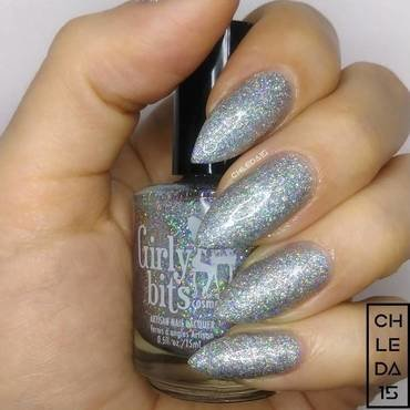 "Girly Bits Cosmetics ""Don't Tangle Your Tinsel"" Swatch by chleda15"