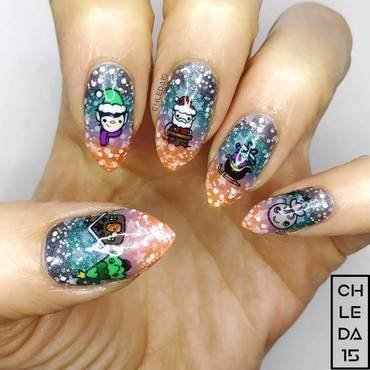2018 #51 nail art by chleda15