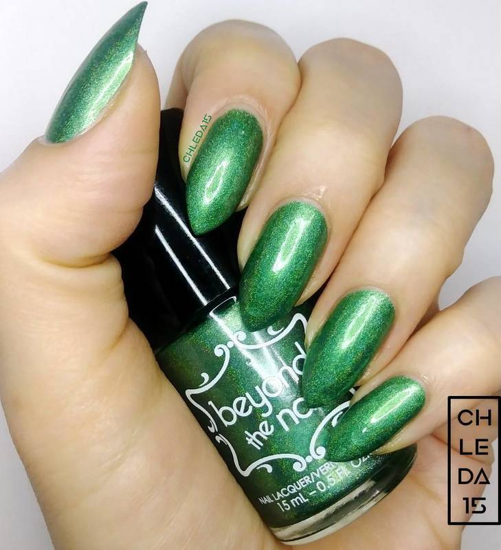 "Beyond The Nail ""Evergreen"" Swatch by chleda15"