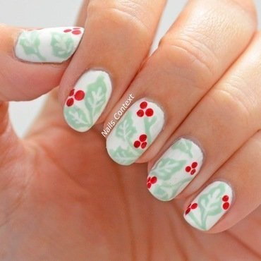 Starbucks Cup Nails  nail art by NailsContext
