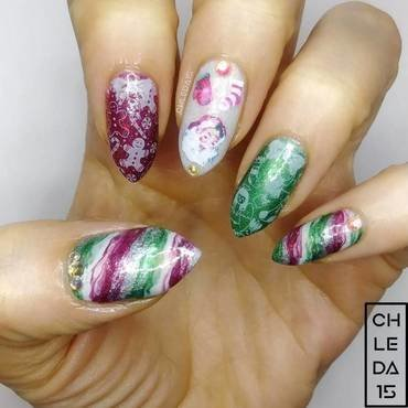 2018 #52 nail art by chleda15