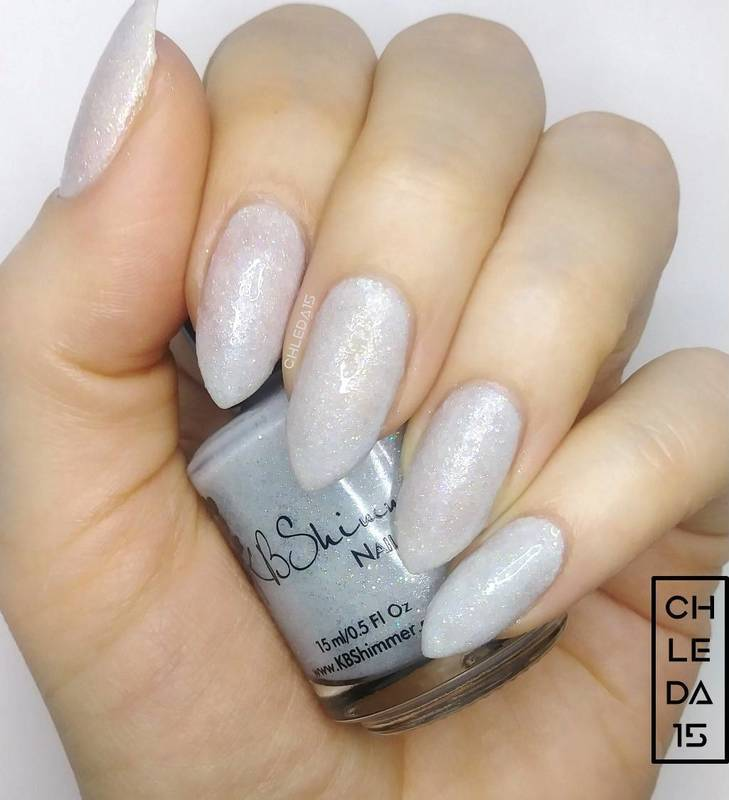 """KBShimmer """"Yeti or Not"""" Swatch by chleda15"""