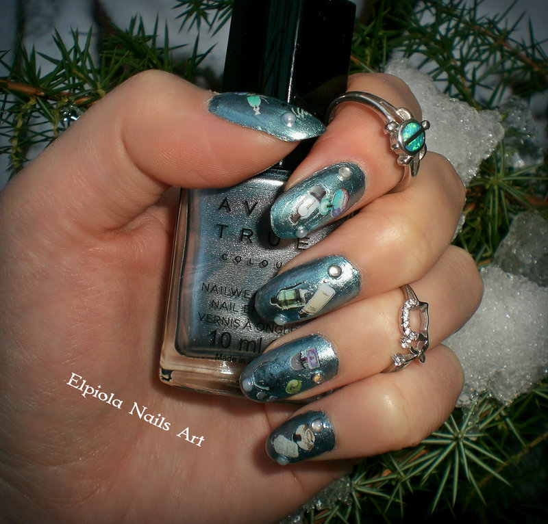 Perfume Nails nail art by Elpiola Lluka