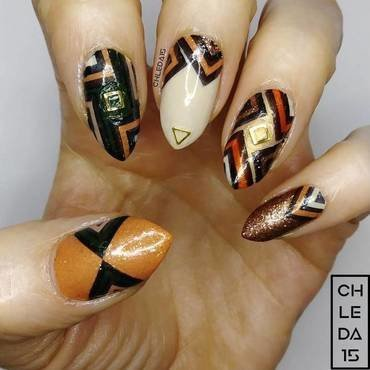 2019 #2 nail art by chleda15