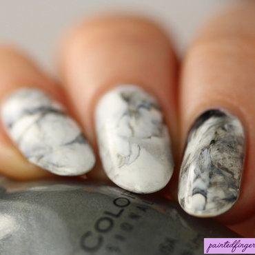 Marble stone nails nail art by Kerry_Fingertips
