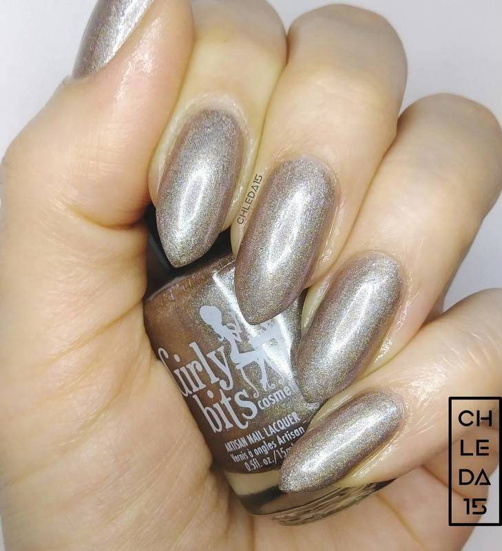 "Girly Bits Cosmetics ""Sandy Claws"" Swatch by chleda15"