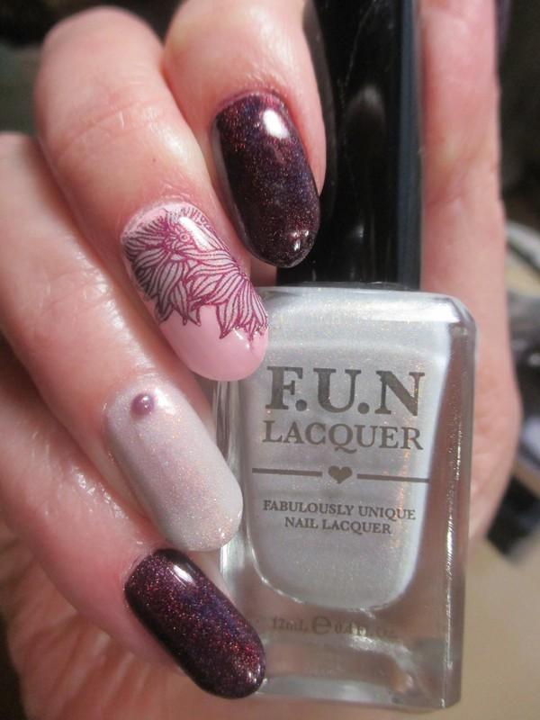 Holo Fun nail art by NinaB