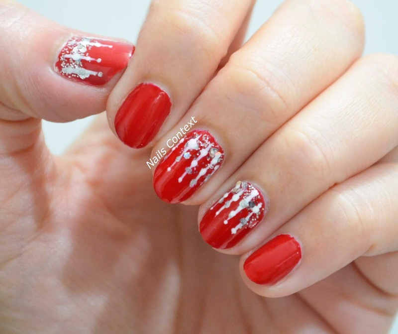 Icicles nail art by NailsContext