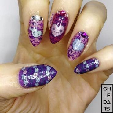 2019 #5 nail art by chleda15