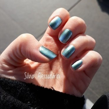 KIKO mirror nail lacquer 625 Swatch by SilvieTepes