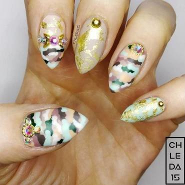 2019 #7 nail art by chleda15