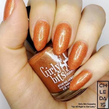 "Girly Bits Cosmetics ""Up All Night to Get Lucky"" Swatch by chleda15"