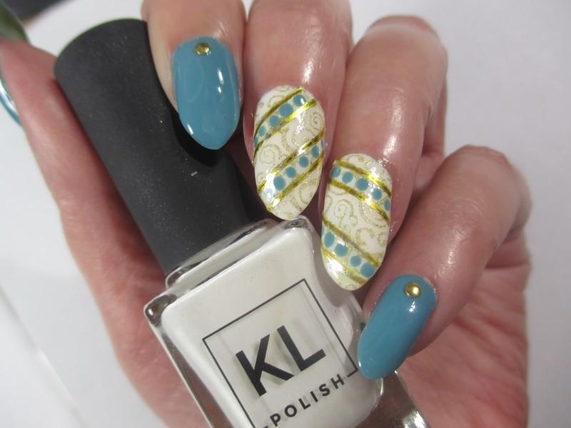 Dotticure nail art by NinaB