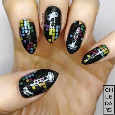 2019 #8 nail art by chleda15