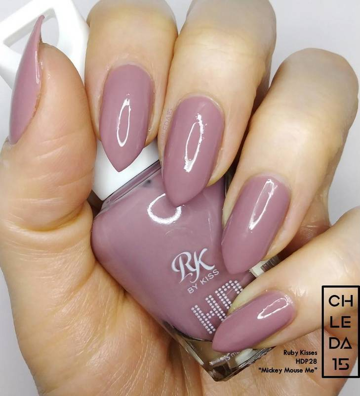 """Ruby Kisses HDP28 """"Mickey Mouse Me"""" Swatch by chleda15"""
