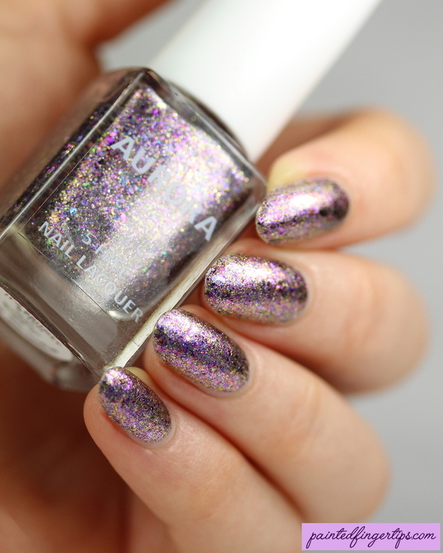 Aurora Nail Lacquer It's Britney B*tch Swatch by Kerry_Fingertips
