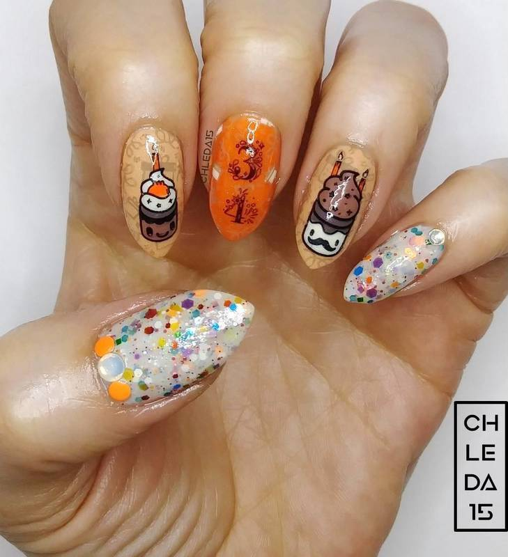 2019 #10 nail art by chleda15