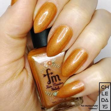 "Fair Maiden Polish ""Gluttony"" Swatch by chleda15"