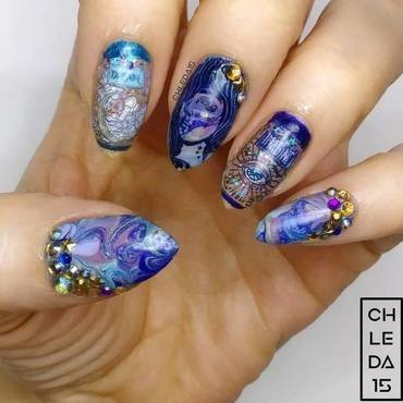 2019 #11 nail art by chleda15