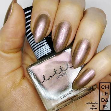 "Lottie London LL011 ""Hipster"" Swatch by chleda15"
