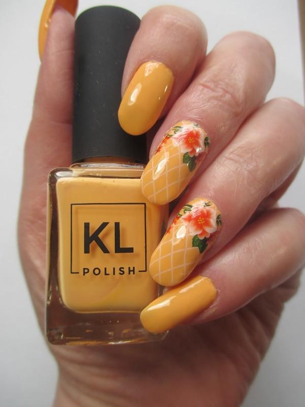 Officially Spring nail art by NinaB