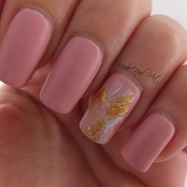 Pastel Pink nail art by Make Nail Art