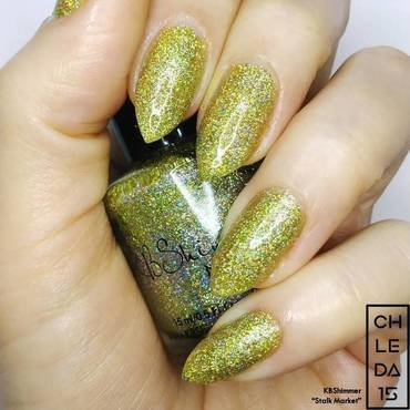 "KBShimmer ""Stalk Market"" Swatch by chleda15"