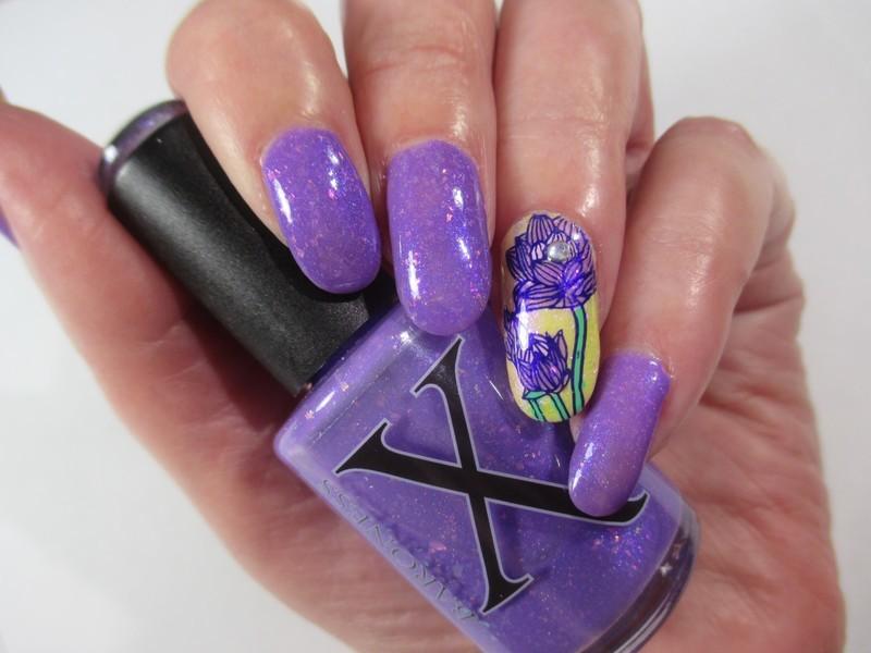Spring Mood nail art by NinaB