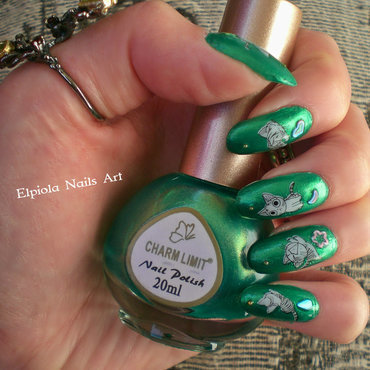 Kitten Nails nail art by Elpiola Lluka