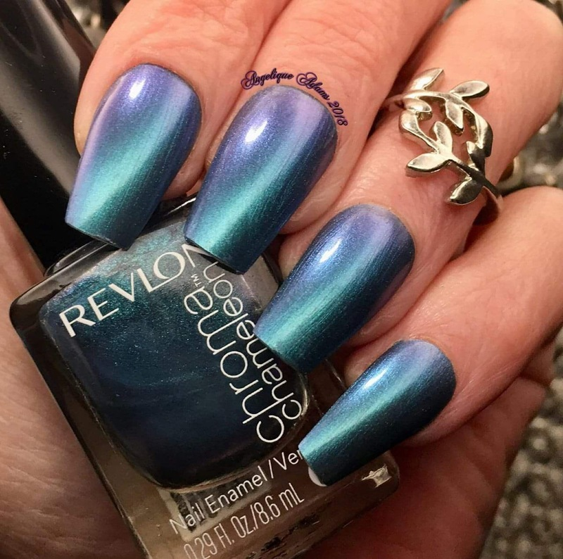 Revlon chroma chameleon Aquamarine Swatch by Angelique Adams