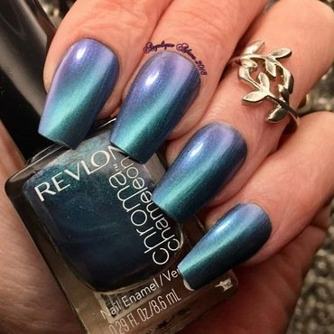 Revlon chroma chameleon Aquamarine Swatch by Angelique Adams