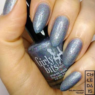 "Girly Bits Cosmetics ""Stardust"" Swatch by chleda15"