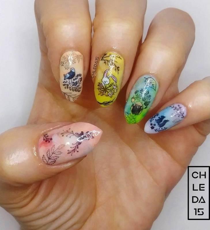2019 #14 nail art by chleda15