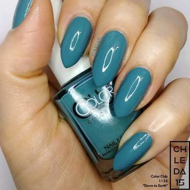 "Color Club 1133 ""Down to Earth"" Swatch by chleda15"