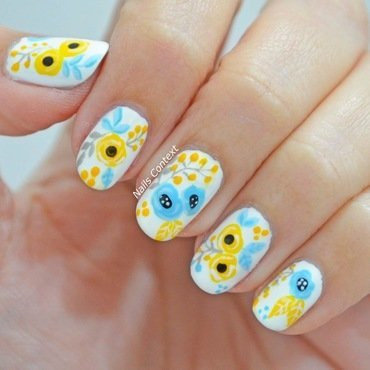 Spring Nail Art  nail art by NailsContext