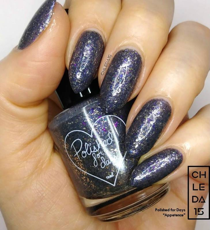 """Polished For Days """"Appetence"""" Swatch by chleda15"""