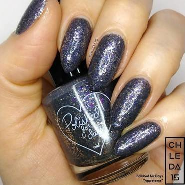 "Polished For Days ""Appetence"" Swatch by chleda15"
