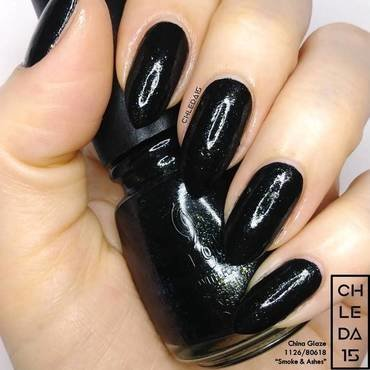 "China Glaze 1126/80618 ""Smoke & Ashes"" Swatch by chleda15"