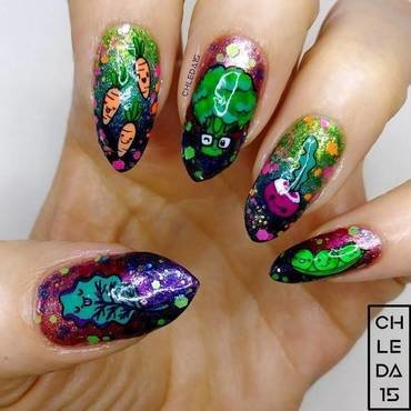 2019 #17 nail art by chleda15