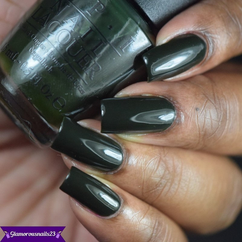 OPI Here Today...Aragon Tomorrow Swatch by glamorousnails23