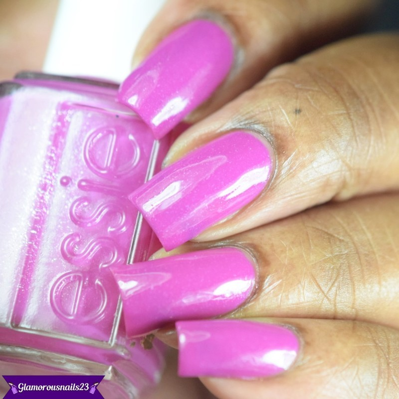 Essie The Girls are Out Swatch by glamorousnails23