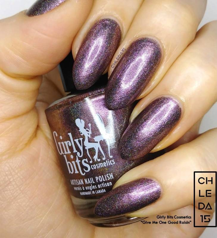 """Girly Bits Cosmetics """"Give Me One Good Raisin"""" Swatch by chleda15"""