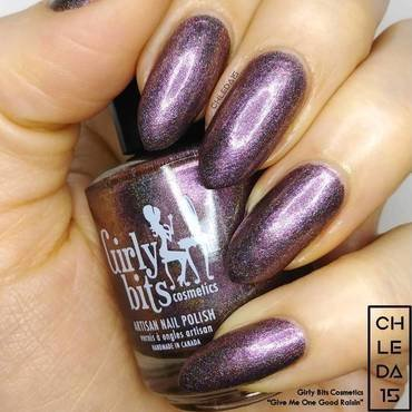 "Girly Bits Cosmetics ""Give Me One Good Raisin"" Swatch by chleda15"