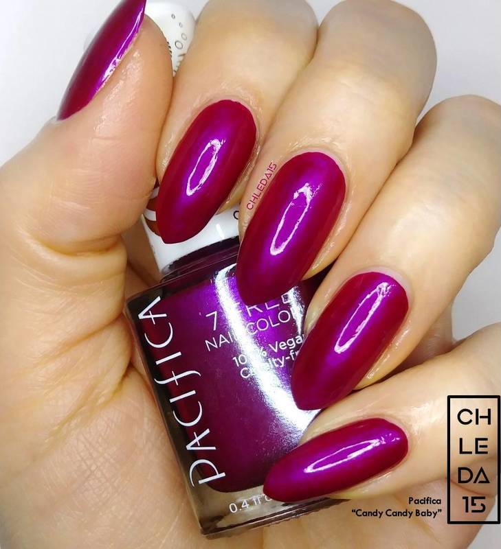 """Pacifica """"Candy Candy Baby"""" Swatch by chleda15"""
