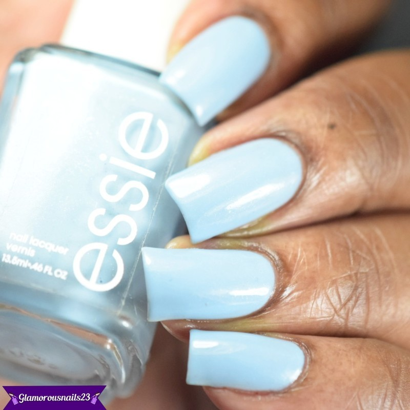 Essie Rock the Boat Swatch by glamorousnails23