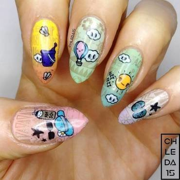 2019 #20 nail art by chleda15