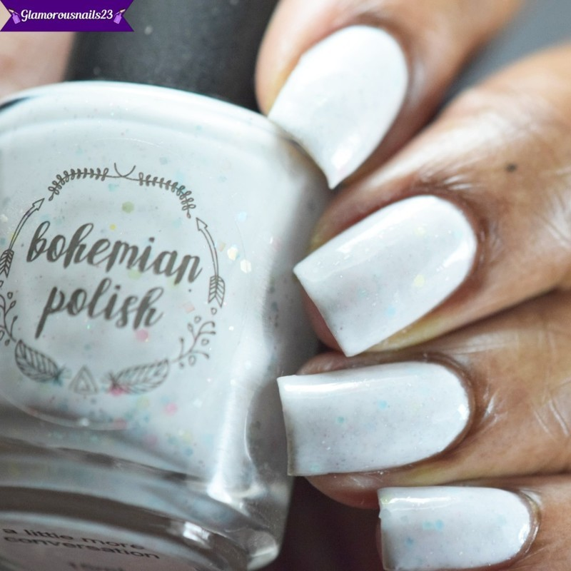 Bohemian Polish A Little More Conversation (LE) Swatch by glamorousnails23