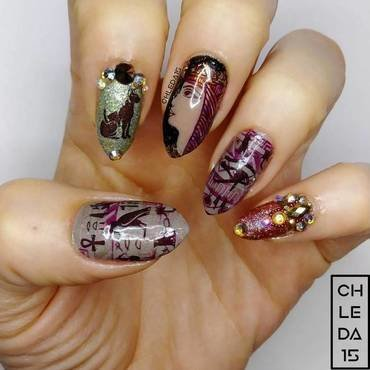 2019 #23 nail art by chleda15
