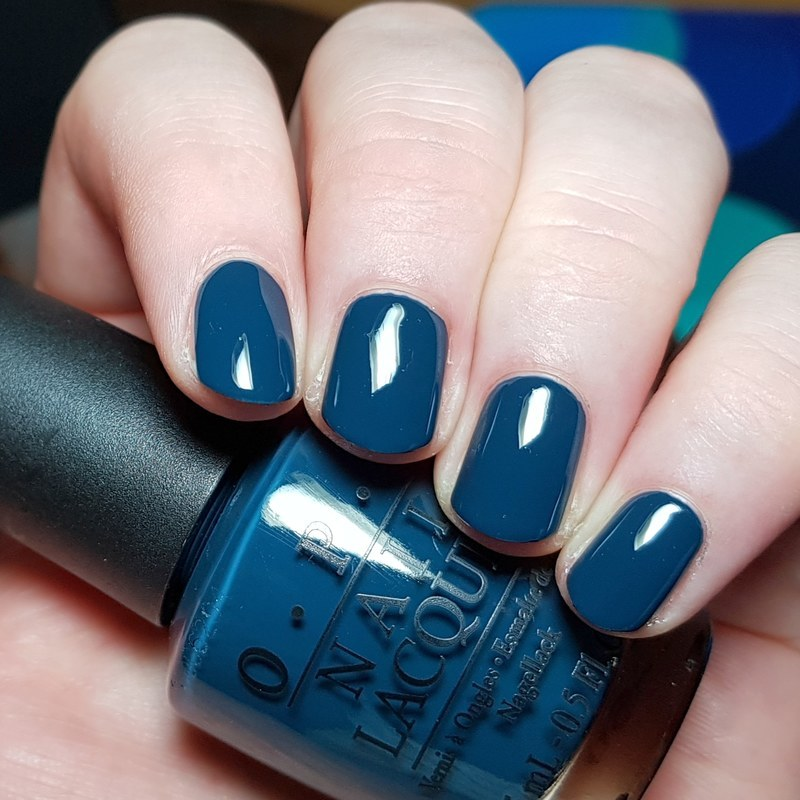 OPI Ski Teal We Drop Swatch by nailicious_1